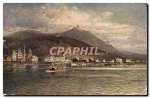 Old Postcard Drachenfels