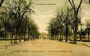 France - Nancy. Leopold Way, Desilles Portal