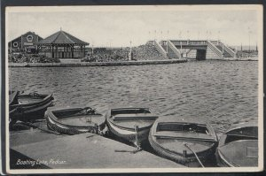 Yorkshire Postcard - The Boating Lake, Redcar     RS15416