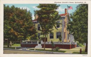 Abraham Lincoln's Home, SPRINGFIELD, Illinois, 30-40's