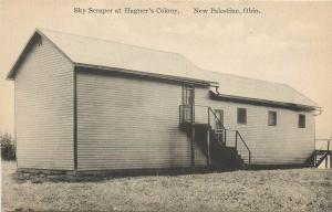 New Palestine Ohio~Two-Story Sky Scraper At Hagner's Colony~1910 Kraemer Art