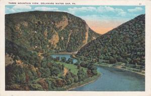 Three Mountain View - Delaware Water Gap PA, Pennsylvania - WB