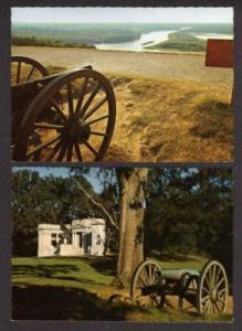 MS Lot 2 VICKSBURG MISSISSIPPI MISS Postcards Civil War