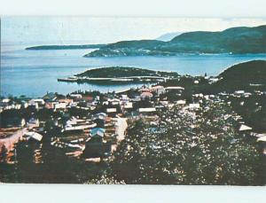 Pre-1980 TOWN VIEW SCENE Tadoussac Quebec QC p9571