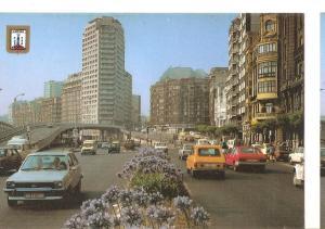 Postal 045892 : La Coruña. Avenida Linares Rivas y Viaducto