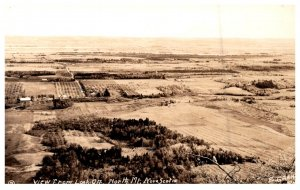 Nova Scotia  Aerial View fromm Look off North Mt RPC