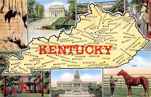 Maps Kentucky USA 1942
