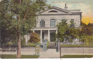 College for Women , COLUMBIA , South Carolina , 00-10s