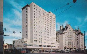 The MacDonald Hotel showing new wing , EDMONTON , Alberta , Canada , 50-60s