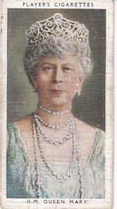 Cigarette Cards Players Kings & Queens of England No 50 H.M. Queen Mary