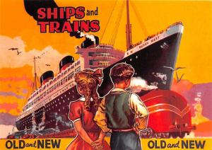 Ocean Liners Series - Ships & Trains