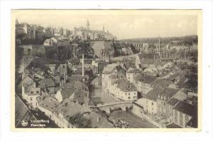 Luxembourg ,Panorama, PU-1952
