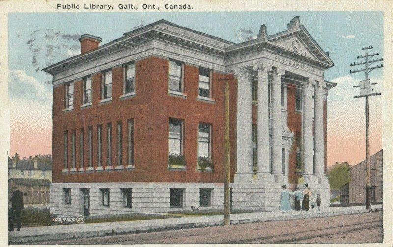 GALT , Ontario , Canada , 1928 ; Public Library
