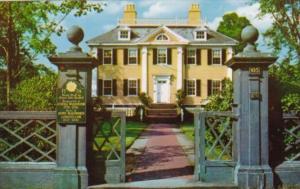 The Longfellow House Cambridge Massachusetts