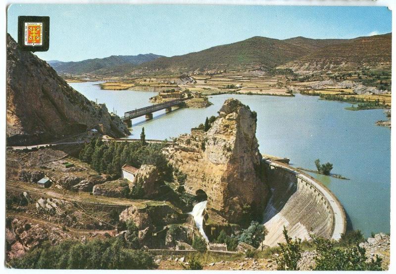 Spain, Pirineo Aragones, Pantano de la Pena, unused Postcard
