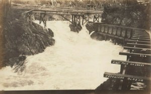 RP: KETCHIKAN , Alaska , 1900-10s ; First Falls on creek