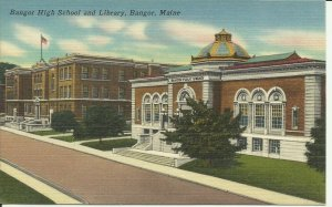 Bangor, Maine, Bangor High School And Library