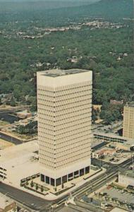 Air view, Daniel Building, Greenville, South Carolina, 40-60s