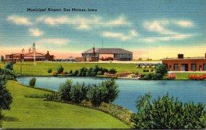 Iowa Des Moines Municipal Airport