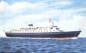 Sun Line Ship - Stella Maris II - Ocean Liner