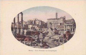 Italy Roma Rome Foro Romano col Campidoglio