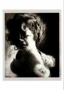 Socialclimber by Lisa Yuskavage Art Postcard