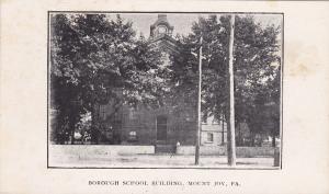 MOUNT JOY, Pennsylvania, 00-10s ; Borough School Building