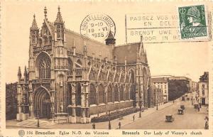 Br34761 Bruxelles Eglise Notre Dame    Belgium