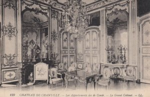 CHANTILLY, France, 1910-1920s, Les Appartements des de Conde - Le Grand Cabinet