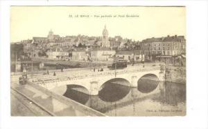Le Mans , France, 00-10s   Vue partielle et Pont Gambetta