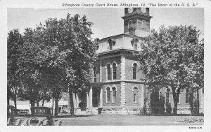 Court House Effingham Illinois postcard