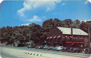 Scotrun Pennsylvania~Rhodes Hotel & Coffee Shop~Roadside~Route 611~Poconos~CARS