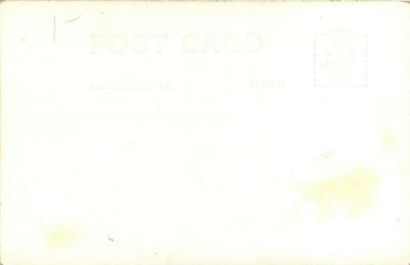 Balmorea State Park Toyahvale TX Texas concession stand RPPC Postcard