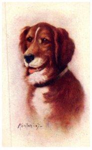 Dog ,named Sport ,   artist Signed kenyon -07