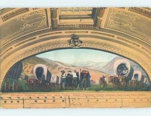 Pre-Chrome ARTWORK CARD Salt Lake City Utah UT AH5286