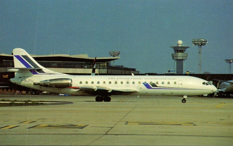 Air Entreprise International SE-210 Super Caravelle 10B3 At Orly Airport France