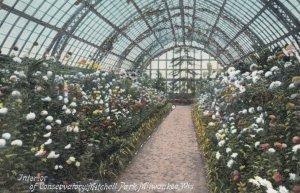 MILWAUKEE , Wisconsin , 1900-10s ; Interior of Conservatory , Mitchell Park