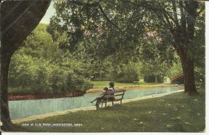 Worcester, Mass., View In Elm Park