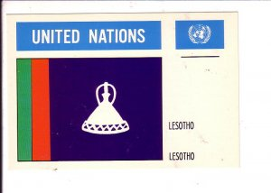 Lesotho  Flag, United Nations