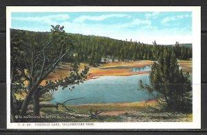 Wyoming, Yellowstone - Firehole Lake - [WY-080]