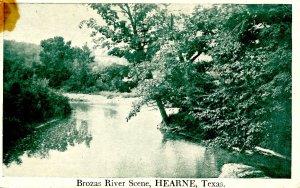 TX - Hearne. Brozas River Scene