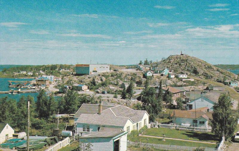 Panorama , YELLOWKNIFE, N.W.T., Canada , 50-60s