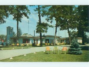 Unused Pre-1980 RINEHART MOTEL Dyer Indiana IN u1541