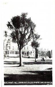 Berchman's Hall Looking East, College of Notre Dame, Belmont, CA