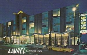 SAN FRANCISCO ,California, 40-60s ; Laurel Motor Inn at Night