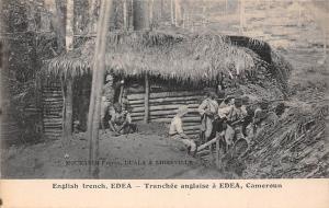 Cameroon English trench, Edea - Tranchee anglaise a Edea, Cameroun