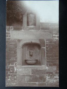 Hereford THE SITE OF ST. ETHELBERTS WELL c1914 RP Postcard by Astor's Studio