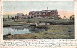 East Northfield Massachusetts The Northfield Scenic View Postcard J51355