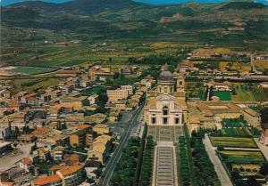 Italy Assisi Aerial View