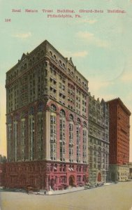 PHILADELPHIA , Pennsylvania , 1900-10s; Real Estate Trust & Girard Betz Building